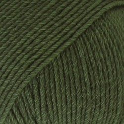 Drops Cotton Merino 22 - donkergroen