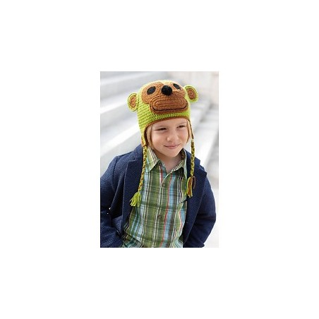 Katia Monkey Cap Green