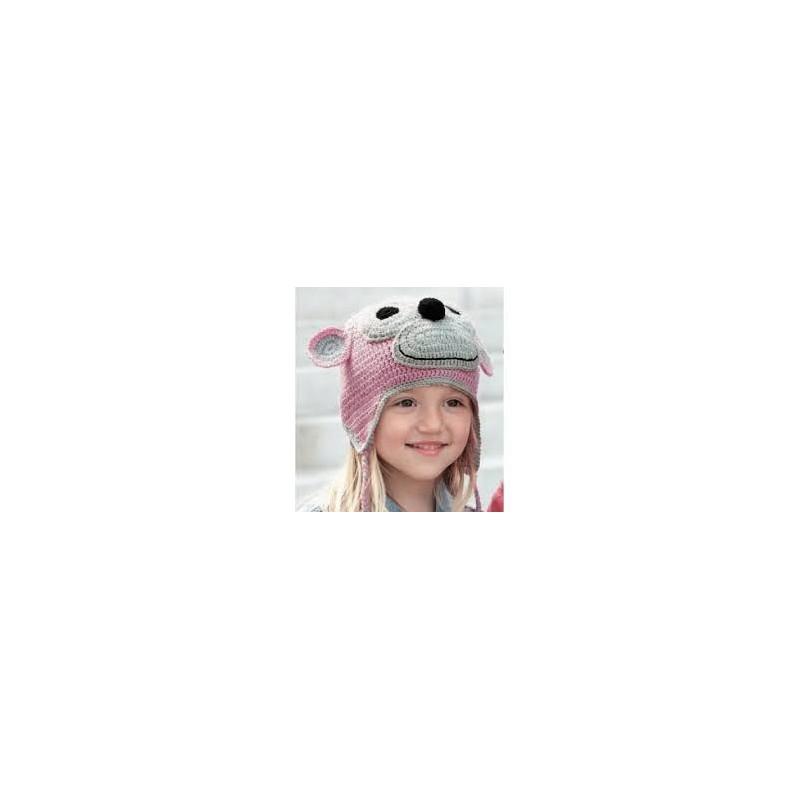 Katia Monkey Cap Pink