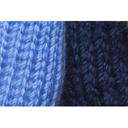 Dog scarf Katia blue/navy blue