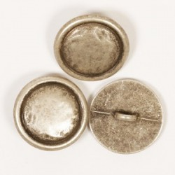 Blinde knoop (zilver) 20mm  - nr529