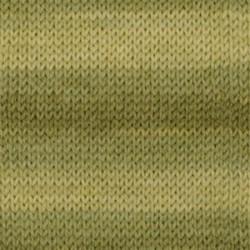 Drops Fabel long print 919 - olijfolie