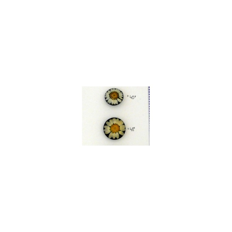 Knoop in kunsthars margriet  28mm