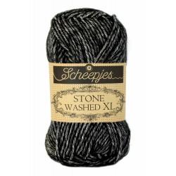 Scheepjes Stone Washed XL - 843 Black Onyx