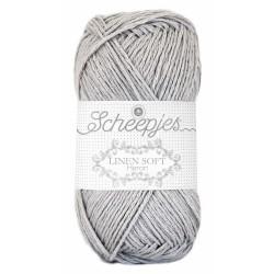 Scheepjes Linen Soft 618 - light grey