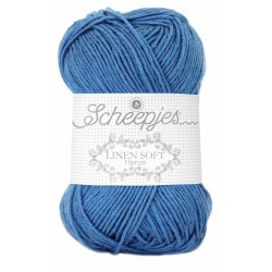 Scheepjes Linen Soft   615 - denim blue
