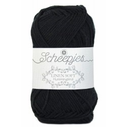 Scheepjes Linen Soft  632 - black