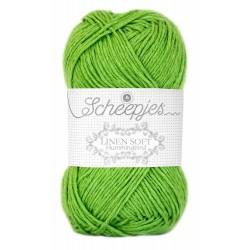 Scheepjes Linen Soft    627 - apple green