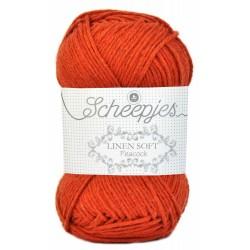 Scheepjes Linen Soft  609 - orange red