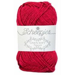 Scheepjes Linen Soft   604 - dark red