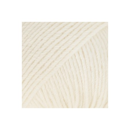 Drops Cotton Merino 01 - naturel