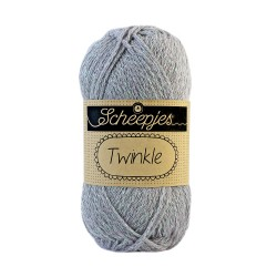 Scheepjes Twinkle 902 Light Grey