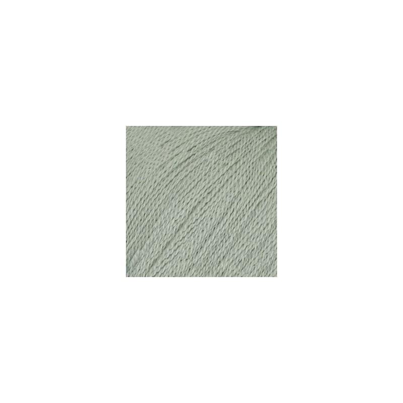 Drops Lace uni colour  7120 - lichtgrijs groen