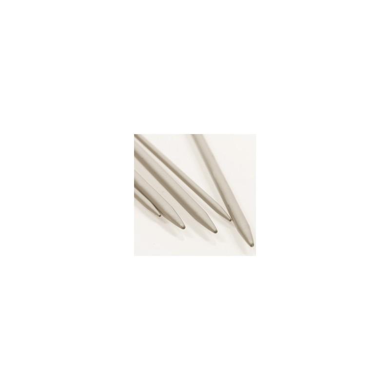 Breinaalden zonder kop  2 mm 20 cm - aluminium