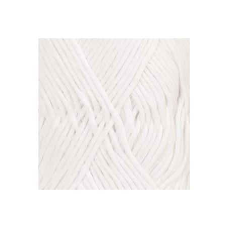 Drops Cotton LIght Uni 02 - wit