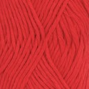 Drops Cotton LIght Uni 32 - red