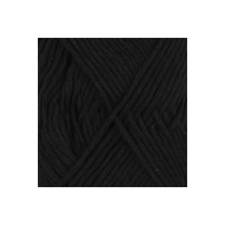 Drops Cotton LIght Uni 20 - zwart