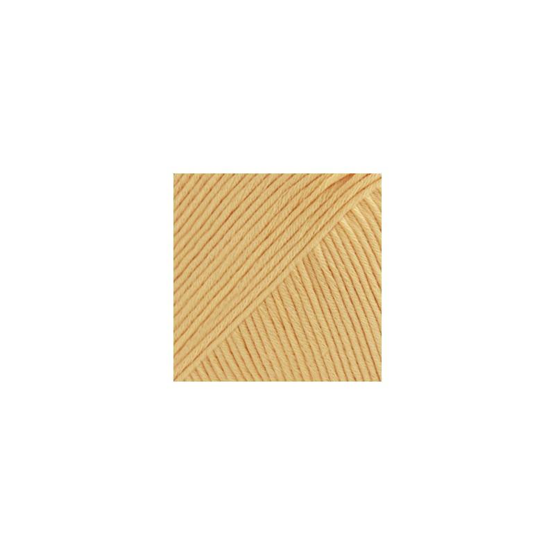 Drops Muskat Uni 30 - vanille geel