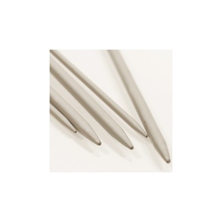 Breinaalden zonder kop  3mm 20 cm - aluminium