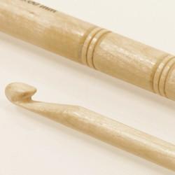 Drops haaknaald 6mm - 13 cm - berk