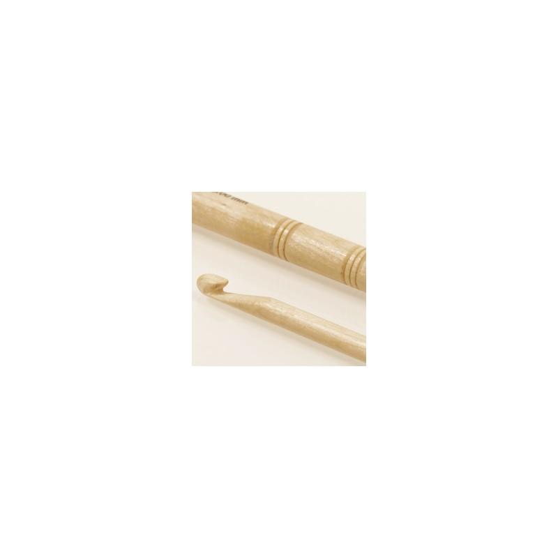 Drops crochet hook 6mm - 13 cm - birch