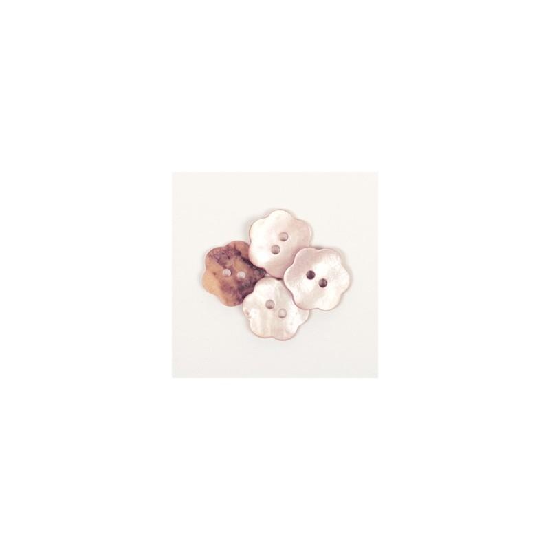 Flower (blush) 15mm n615