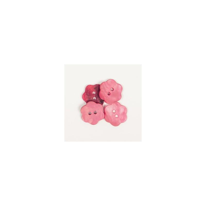 Blume (rot) 15mm - n617