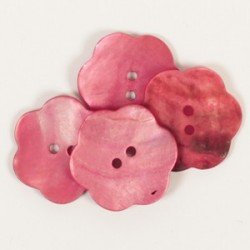 Blume (rot) 25mm - n604