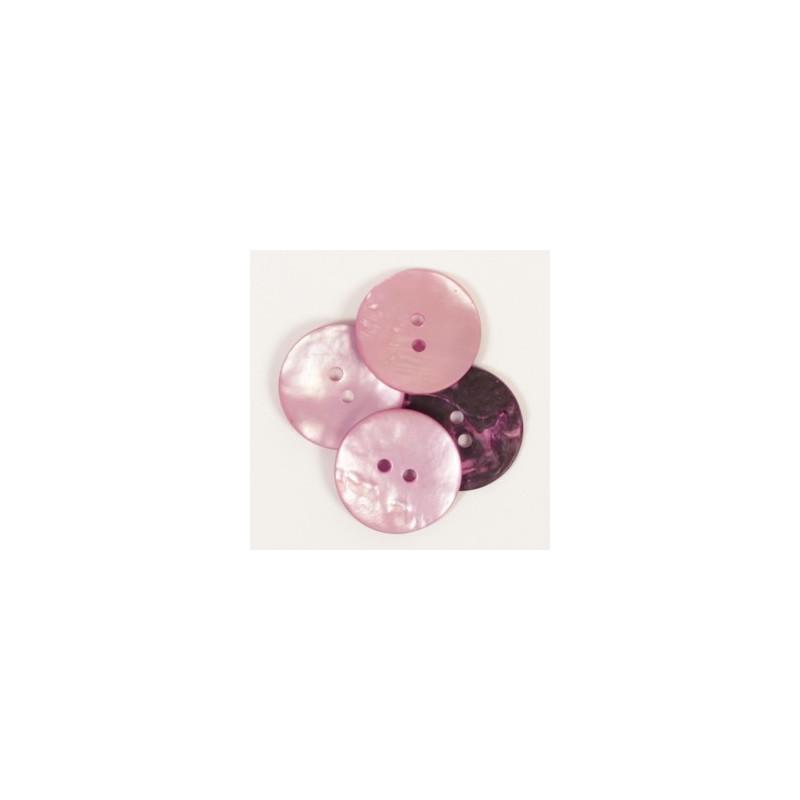 Round (pink) 20mm - n608