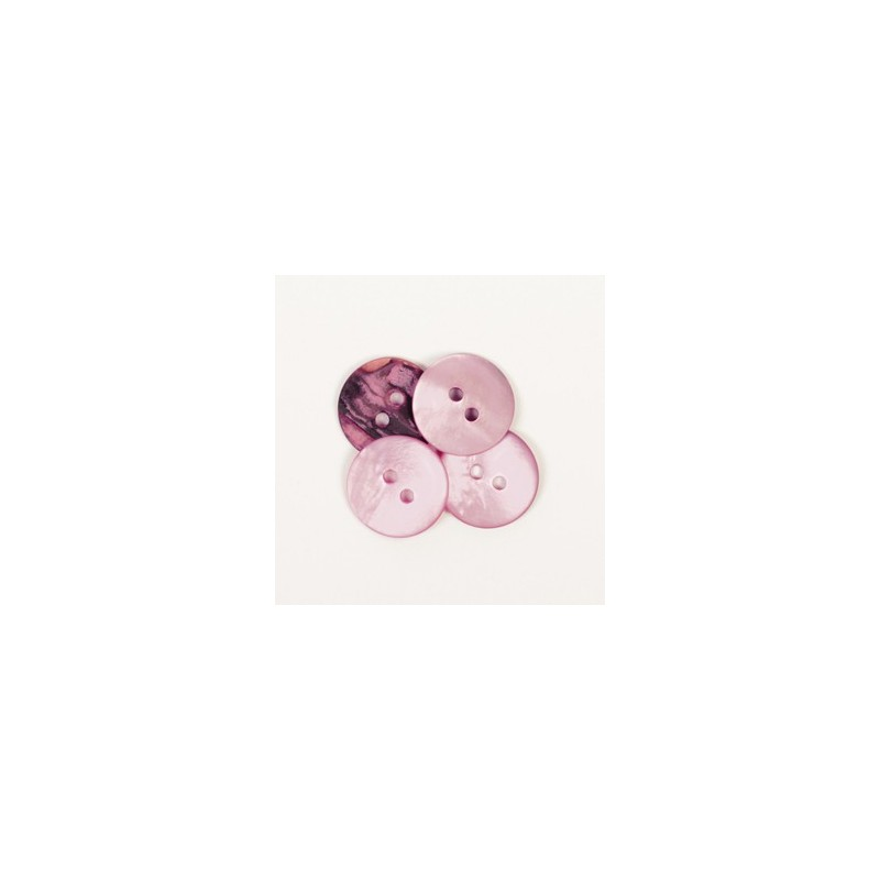 Rond (roze) 15mm - nr622