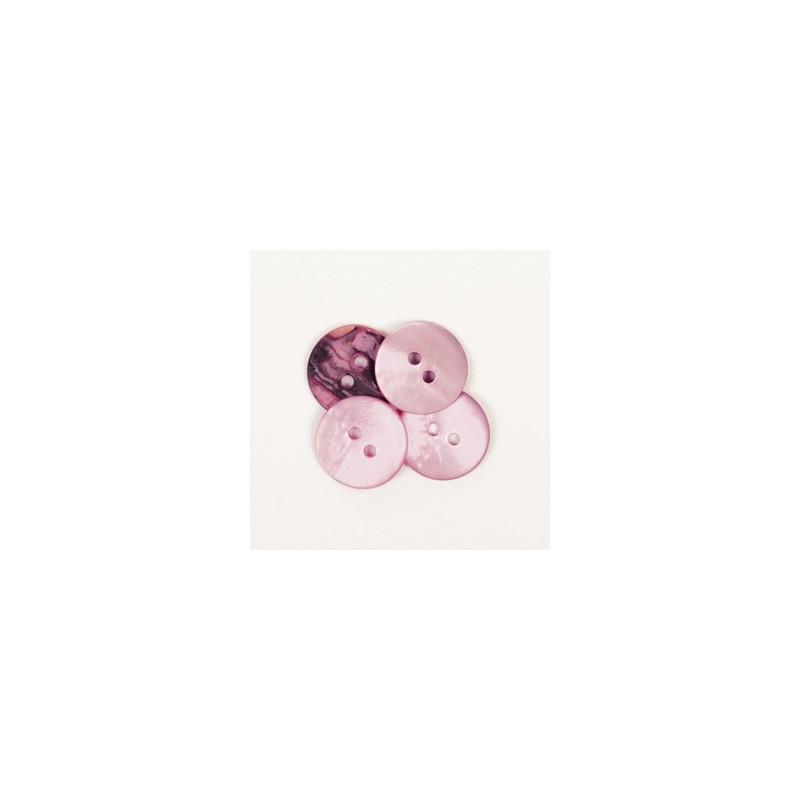 Round (pink) 15mm - n622