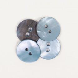 Rund (blau) 15mm - n621