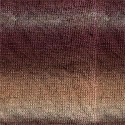 Drops Drops Delight 02 - plum/beige/heather