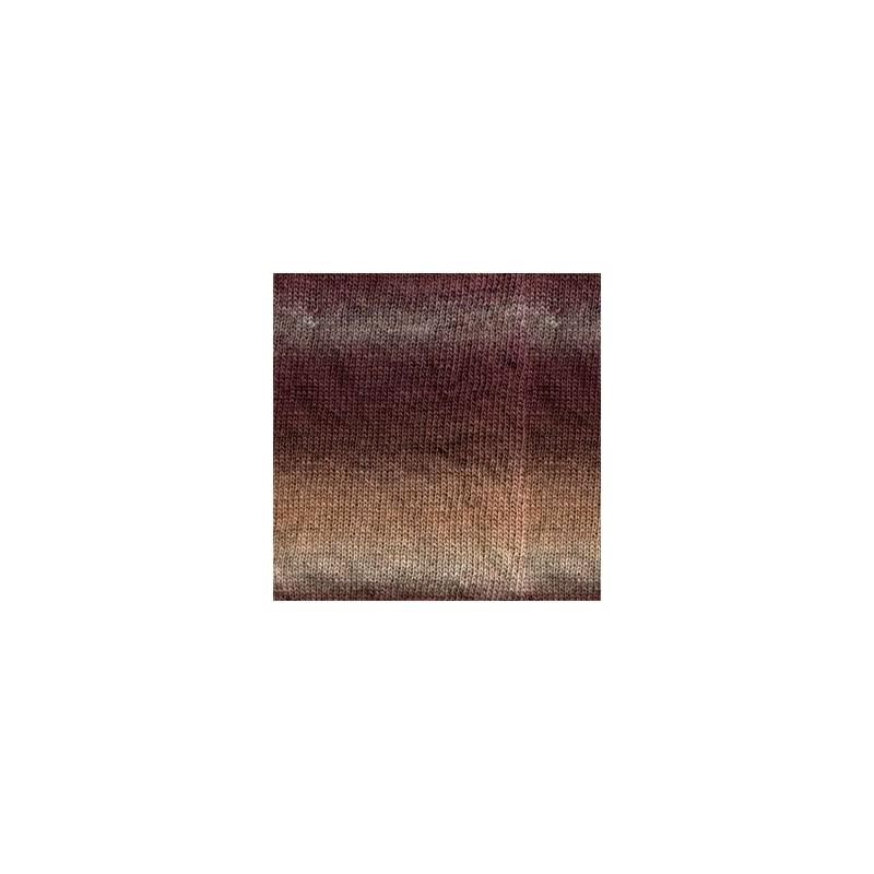 Drops Drops Delight 02 - prune/beige/bruyère