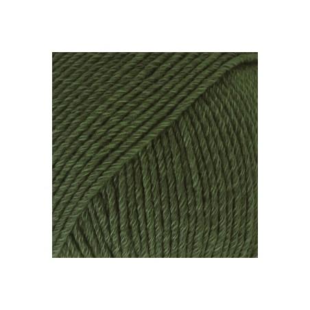 Drops Cotton Merino 22 - donkergroen
