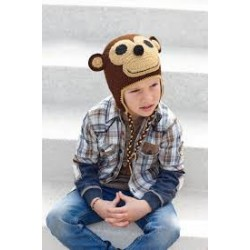 Katia Monkey Cap Brown