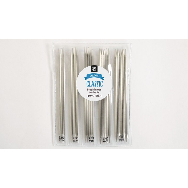 Drops  Pro Classic  - Double Pointed Needles Set