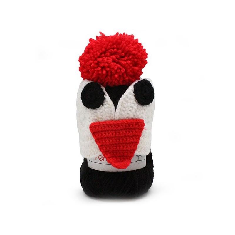 Katia Kids Penguin Cap Red