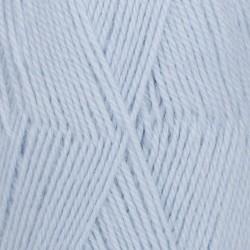 Drops Drops Flora Uni 14 - ijsblauw