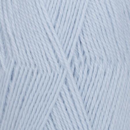 Drops Flora Uni 14 - ijsblauw