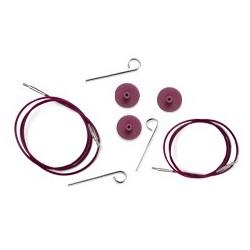 KnitPro Seil - ergibt 40 cm Rundnadeln