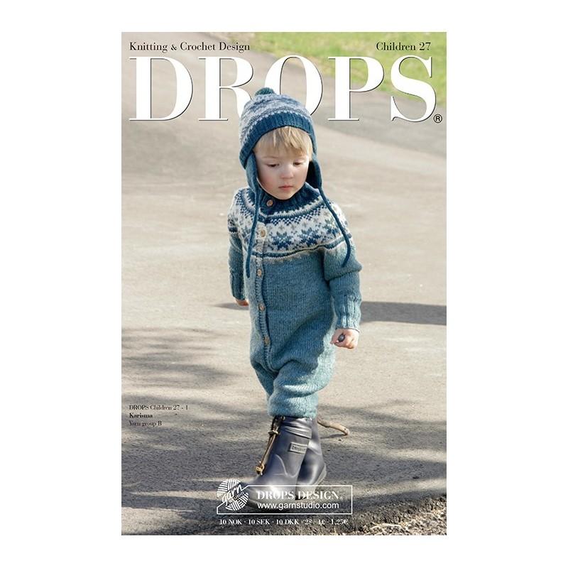 Drops Patroonboek Kind 27 (FR/ENG)