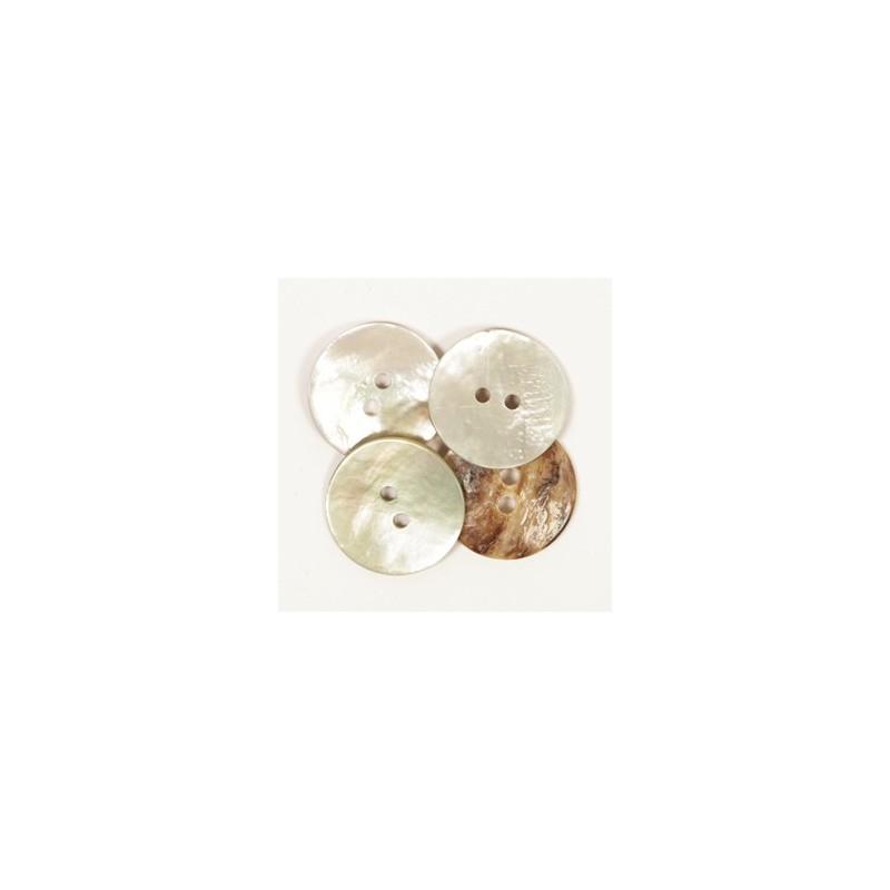Concave (blanc) (20mm) - 522