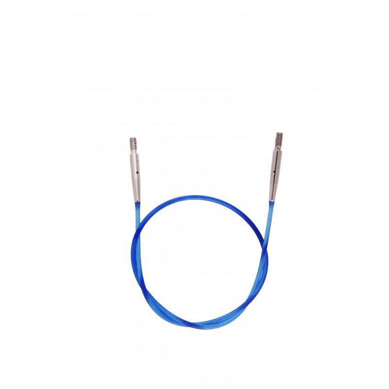 KnitPro Cable - to make 50cm - blue