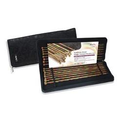 KnitPro Symphony Wood - Rechte breinaalden set