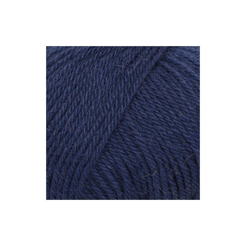 Drops Drops Puna Uni 13 - navy blue