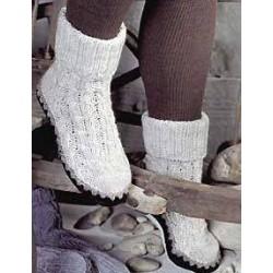 leather soles sz 42-43 black - 1 pair