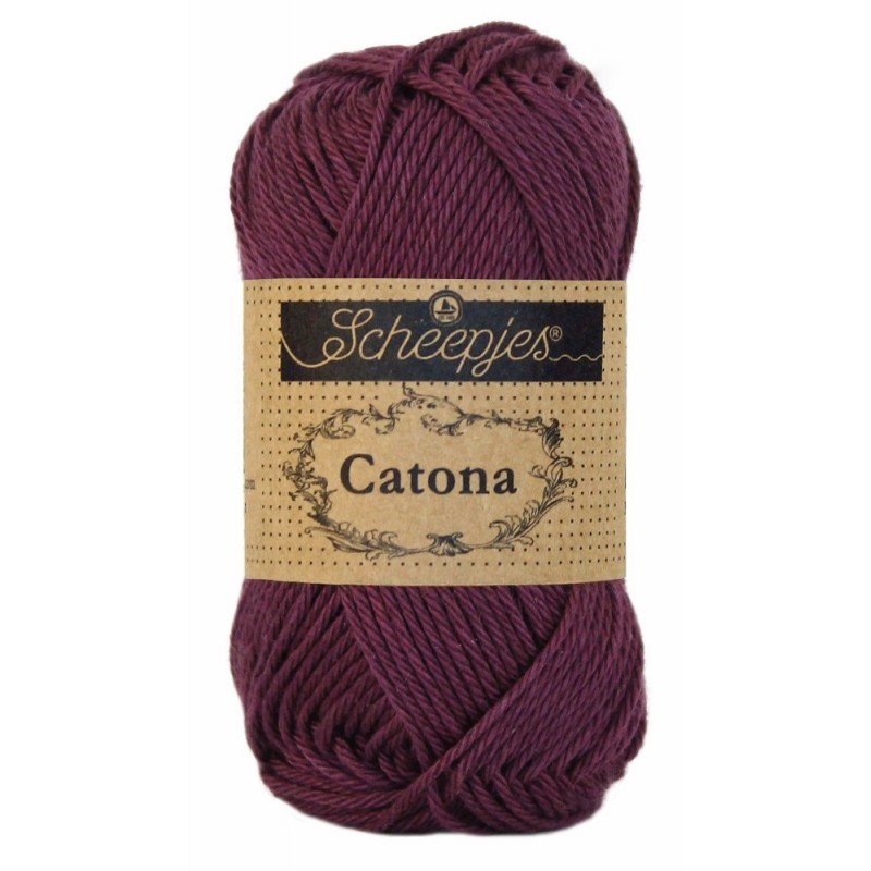 Scheepjes Catona 50 - 394 Shadow Purple