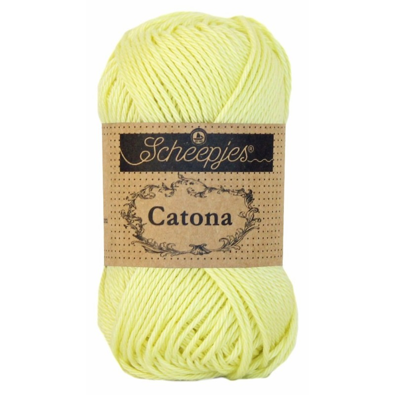 Scheepjes Catona 50 - 100 Lemon Chiffon