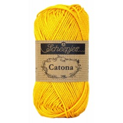 Scheepjes Catona 50 - 208 Yellow Gold